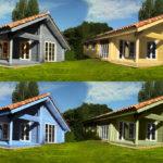 Maison bois en Kit Louisa : 114m² – maison en bois habitable lumineuse.
